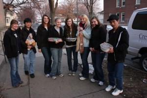 Students learn more about hunger and what it means to feed and be fed