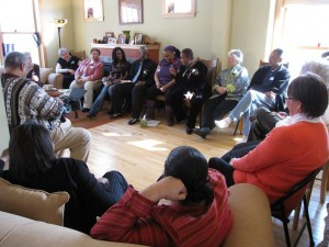 The Circle of Restorative Justice convening at St. Jane House