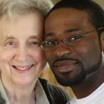 Sr. Mary Margaret and Oshea: Grandmother, Grandson