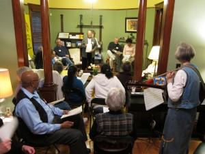 A 2nd Monday night gathering of Salesian friends.