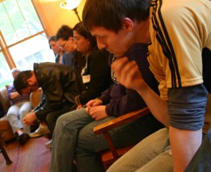 Tuning into Prayer: Grayson and Fellow Discerners