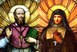 St Francis de Sales and St. Jane de Chantal