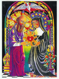 Heart to Heart Ministry: Visitation Co-founders Sts Francis de Sales and Jane de Chantal