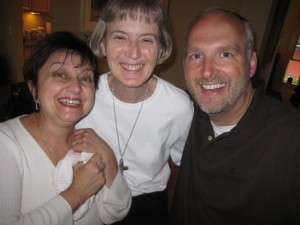 "Faithful prayers including Sr. Karen and ""Mr. St. Jane"" Brian Mogren"