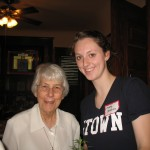 Maddy DeMeules, Vis Graduate Class of 2010 & Sr Mary Virginia from Opening Services