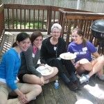Meghan Wenger and Classmates from Vis with the Vis Sisters of North Mnpls