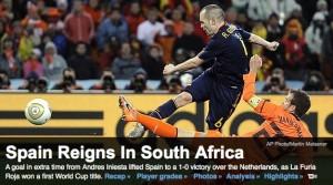 Spain's Victory