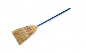 Wool-broom