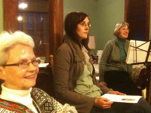 Attentive to the Call: Sr. Katherine, Vis Companion, Kim Jakus, Sr. Karen