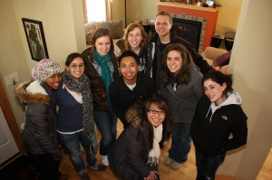 Young Adults in service among us