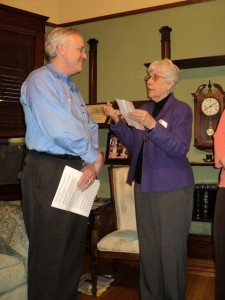 Sr. Mary Virginia welcomes Phil