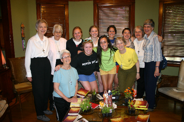 The Convent of the Visitation Seniors & the Sisters