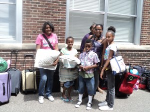 CYC Campers at Send Off