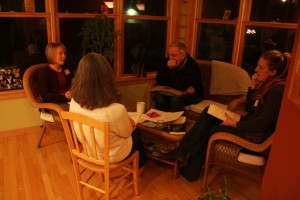 Tom with fellow FTS Discerners, Spring 2012