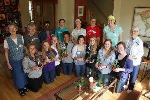 Service Immersion: Welcome to the Class of 2013 Visitation School Seniors!
