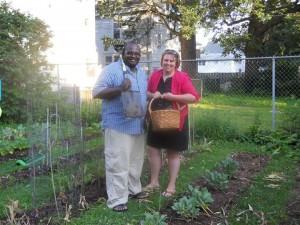 Gardening Vis Companions: Fabio and Sonja