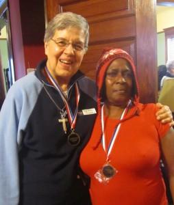 S. Mary Frances and Olympian Mom