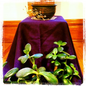 Ash Wednesday alter