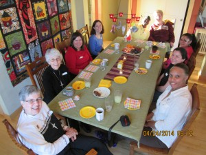 A life in abundance! Women's Spring Retreat at St. Jane House