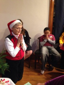 Christmas Prayer and Santa Party