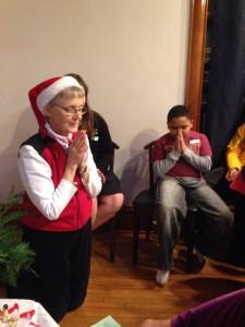 Christmas Prayer and Santa Party