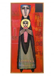 Hail Mary, 1950, Frank Kacmarcik