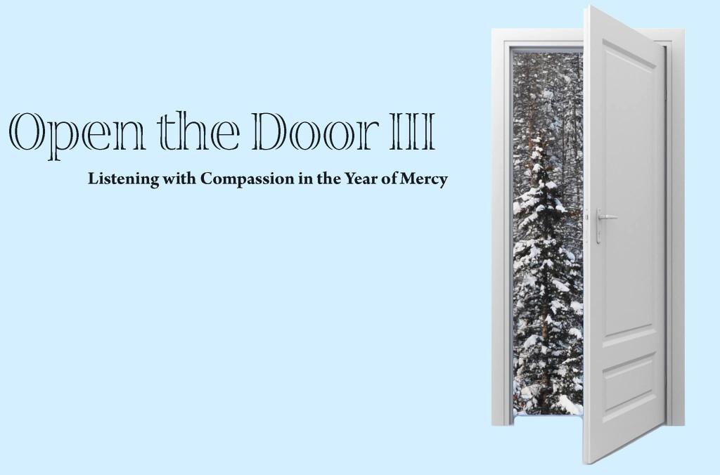 Open the Door Banner