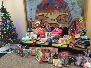 The Giving Tree at Shriner's Hospital