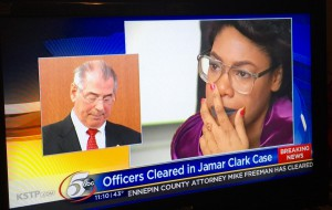 Officers cleared in Jamar Clark Case - KSTP news report