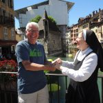 Michael and Sr. Susan Marie
