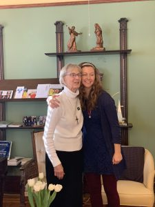 Sister Karen and Caitlin Parsley